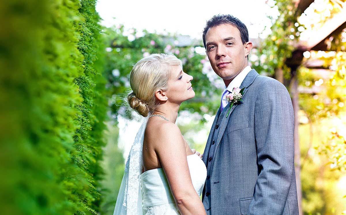 Contact a wedding photographer