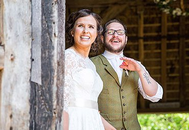 wedding photography at the barn venue