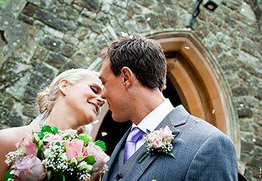 celebrating marriage outside church
