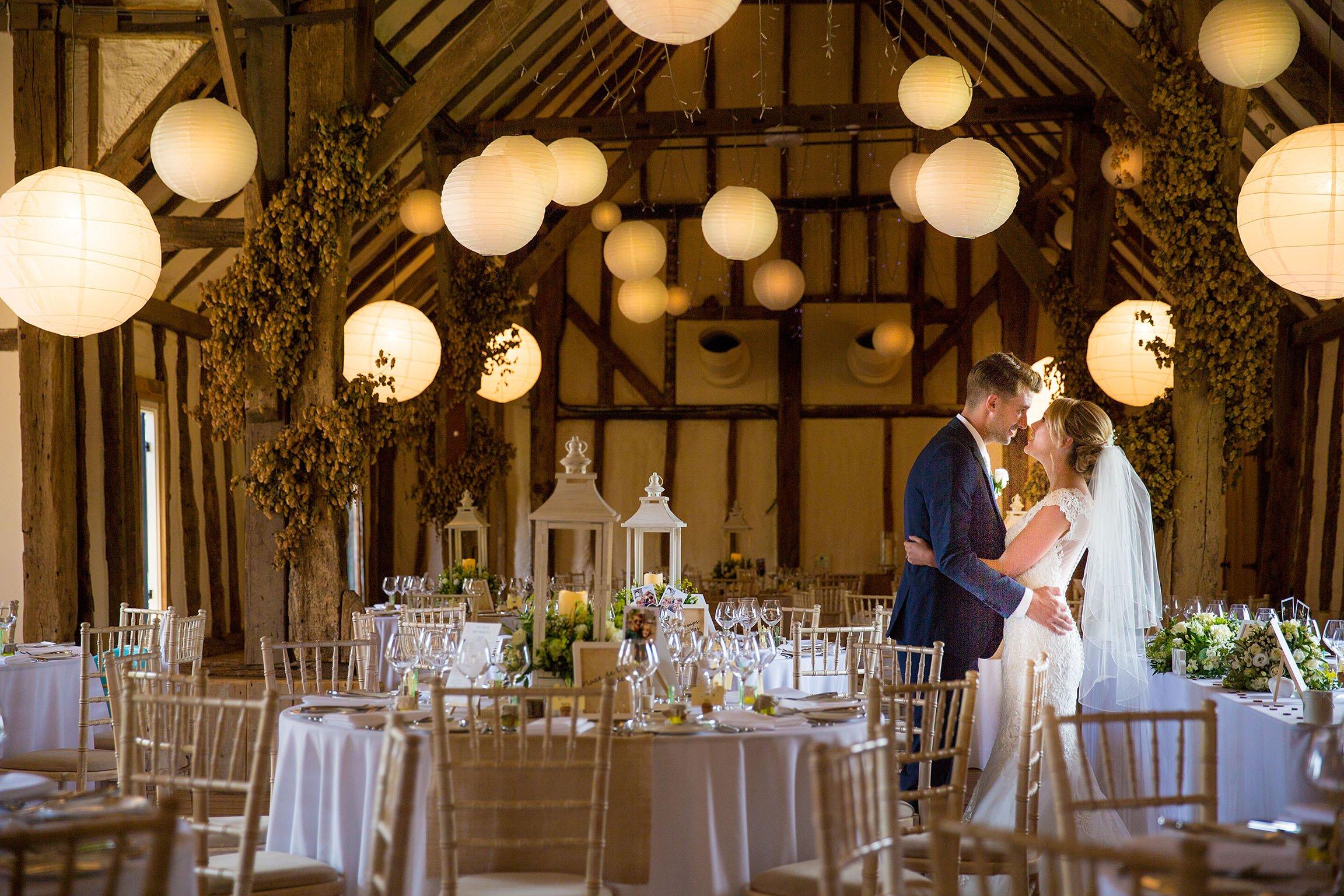 Wedding photos at Winters Barns
