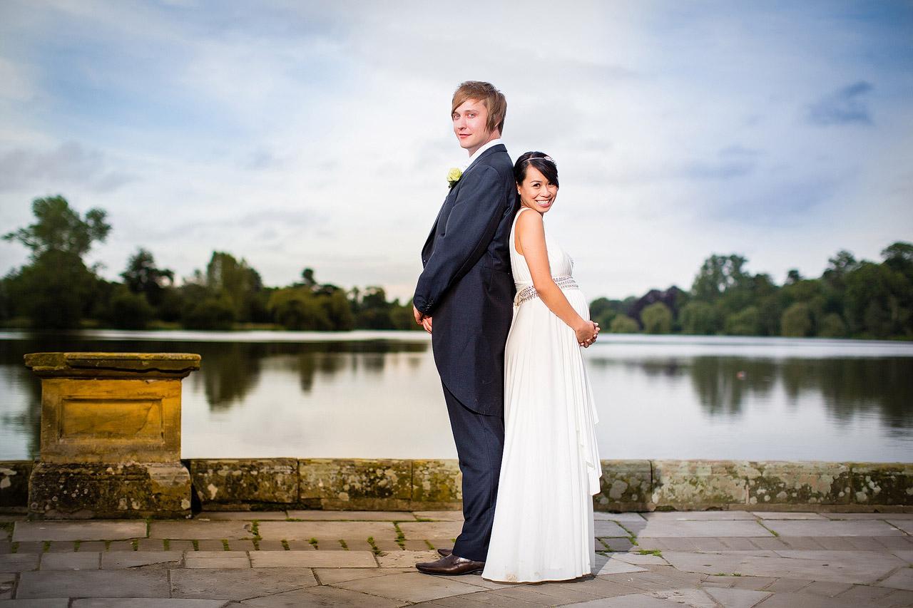 Wedding photos at Hever Castle